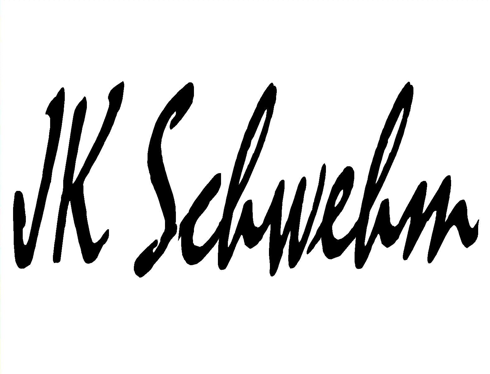 JK Schwehm Signature