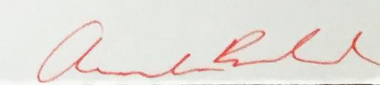 Amanda Bedard Signature