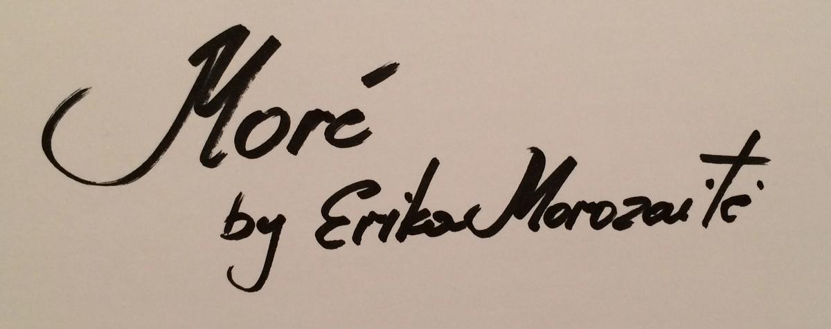 Erika Morozaite Signature