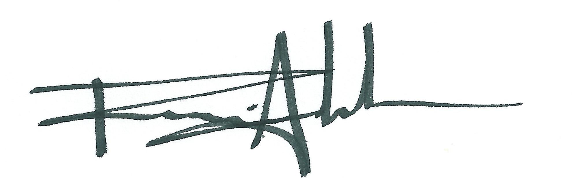 Ramiro Andrade Signature