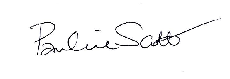 Pauline scott Signature