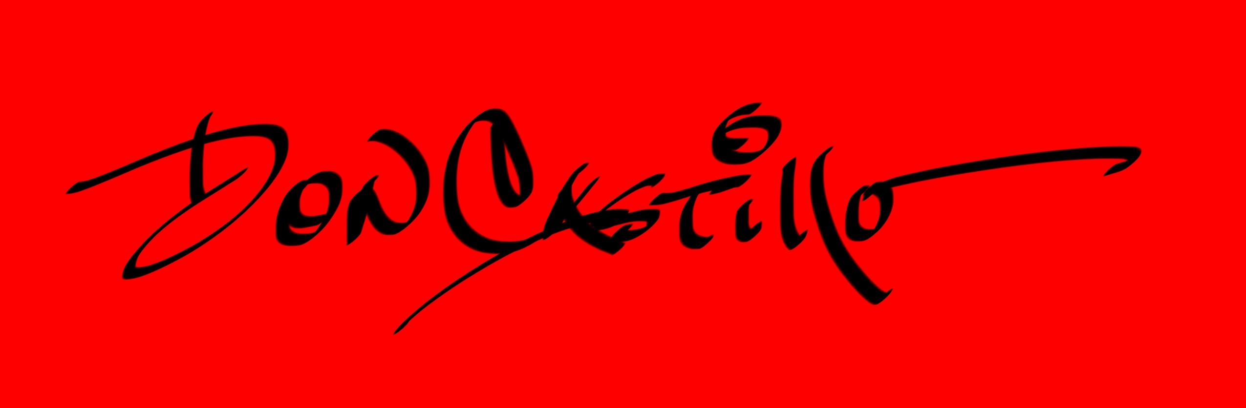 Don Castillo Signature