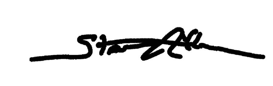 Stan Allen Signature
