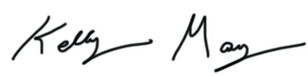 Kelly May Cassidy Signature