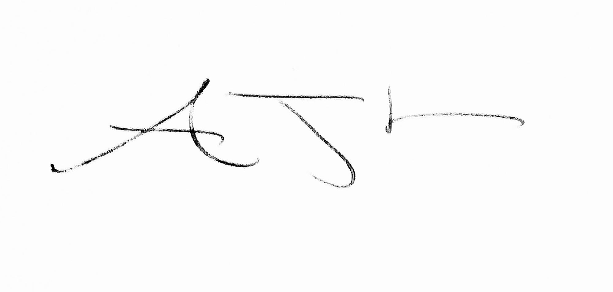 Andrew Lever Signature