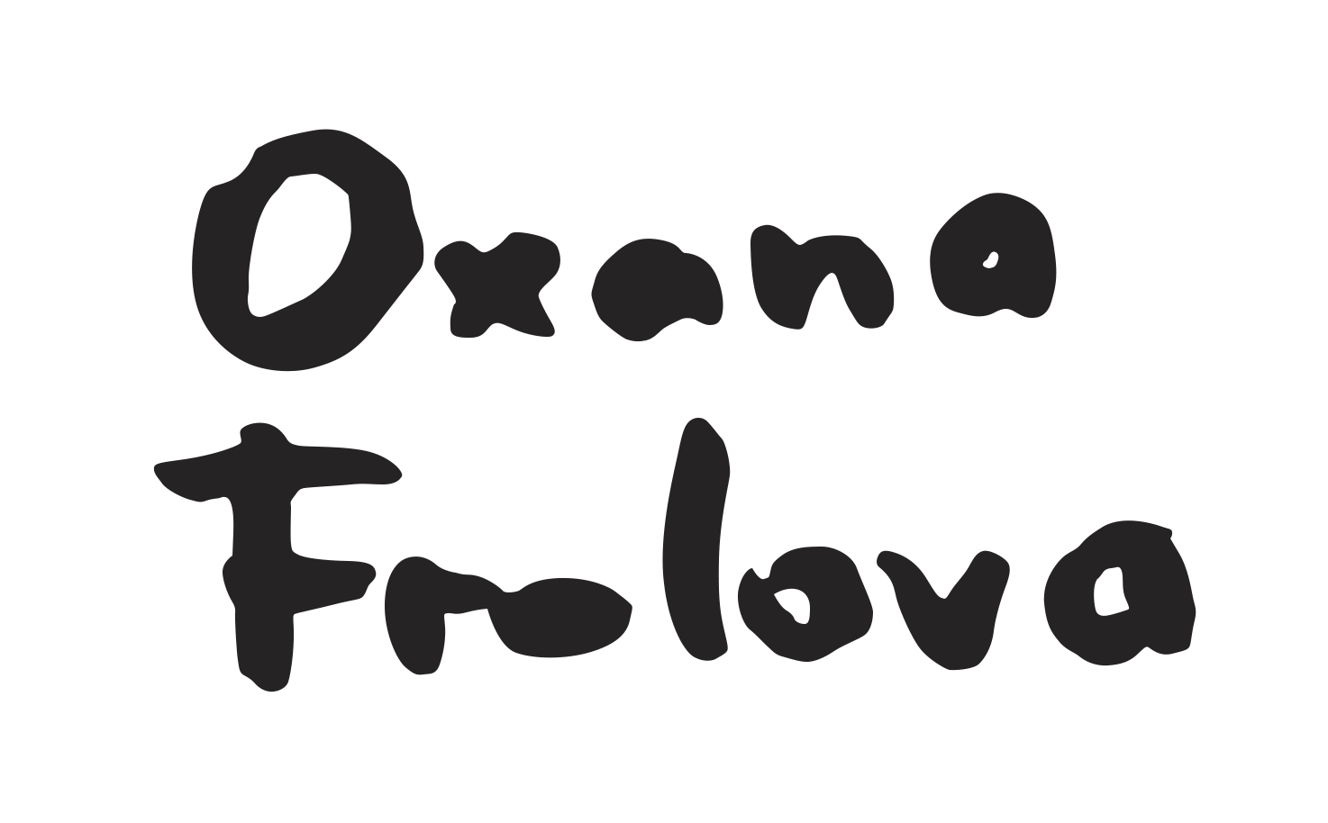 Oxana Frolova Signature
