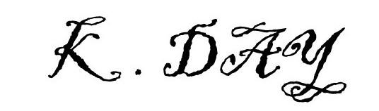 ken day Signature