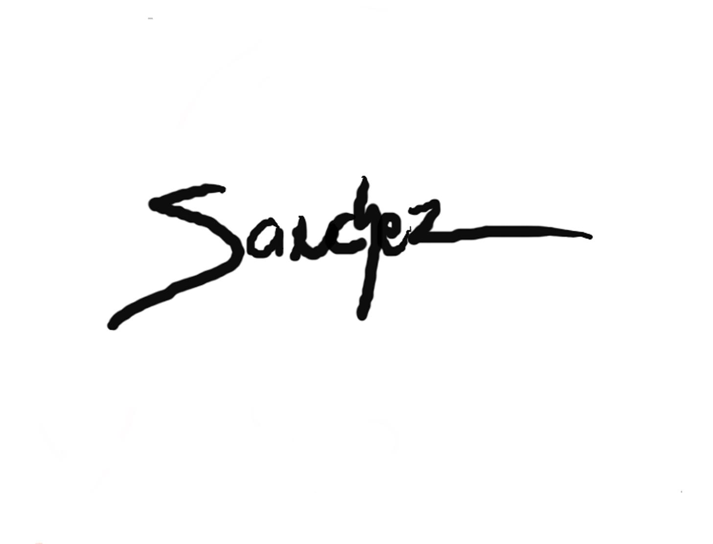 Juan Sanchez Signature