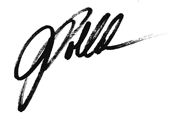 Joan Pollak Signature