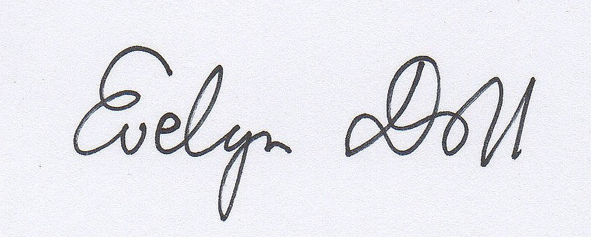 Evelyn Doll Signature