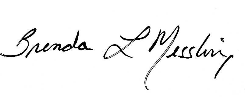 Brenda Messling Signature