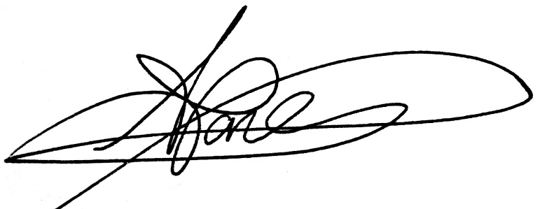 amy jones Signature