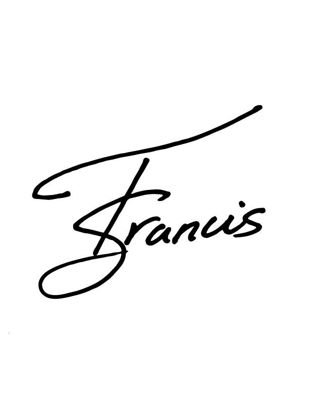 Taqiyyah Francis Signature