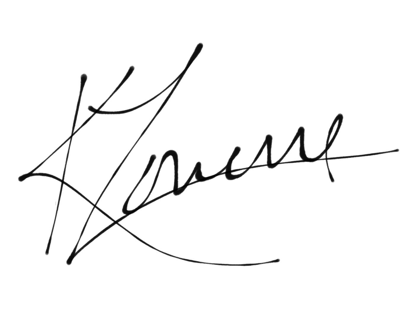 Kathleen Lowerre-poskitt Signature