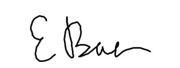 Ellen Baer Signature