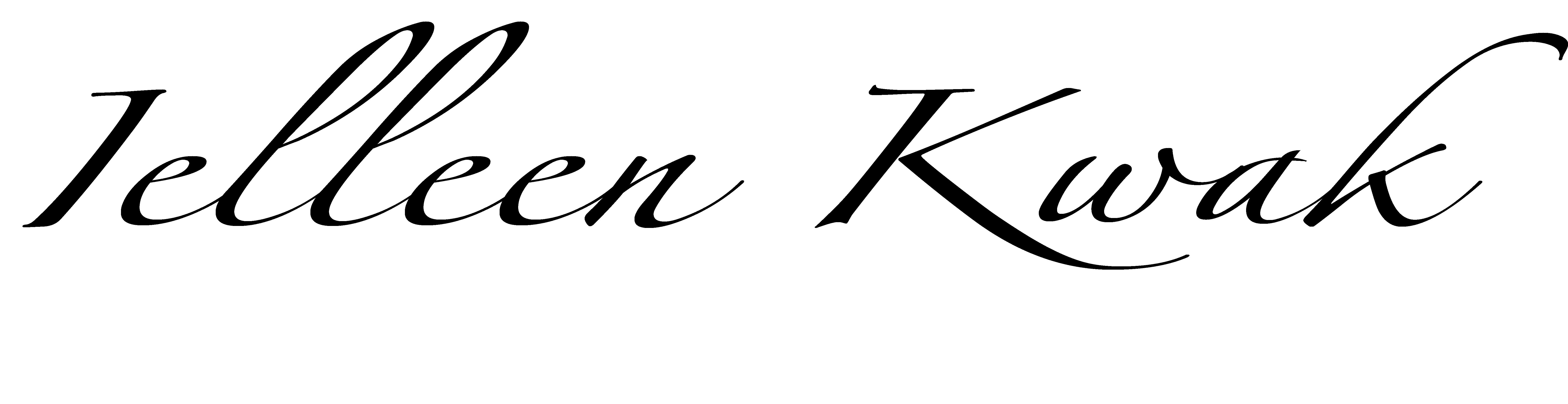ielleen kwak Signature