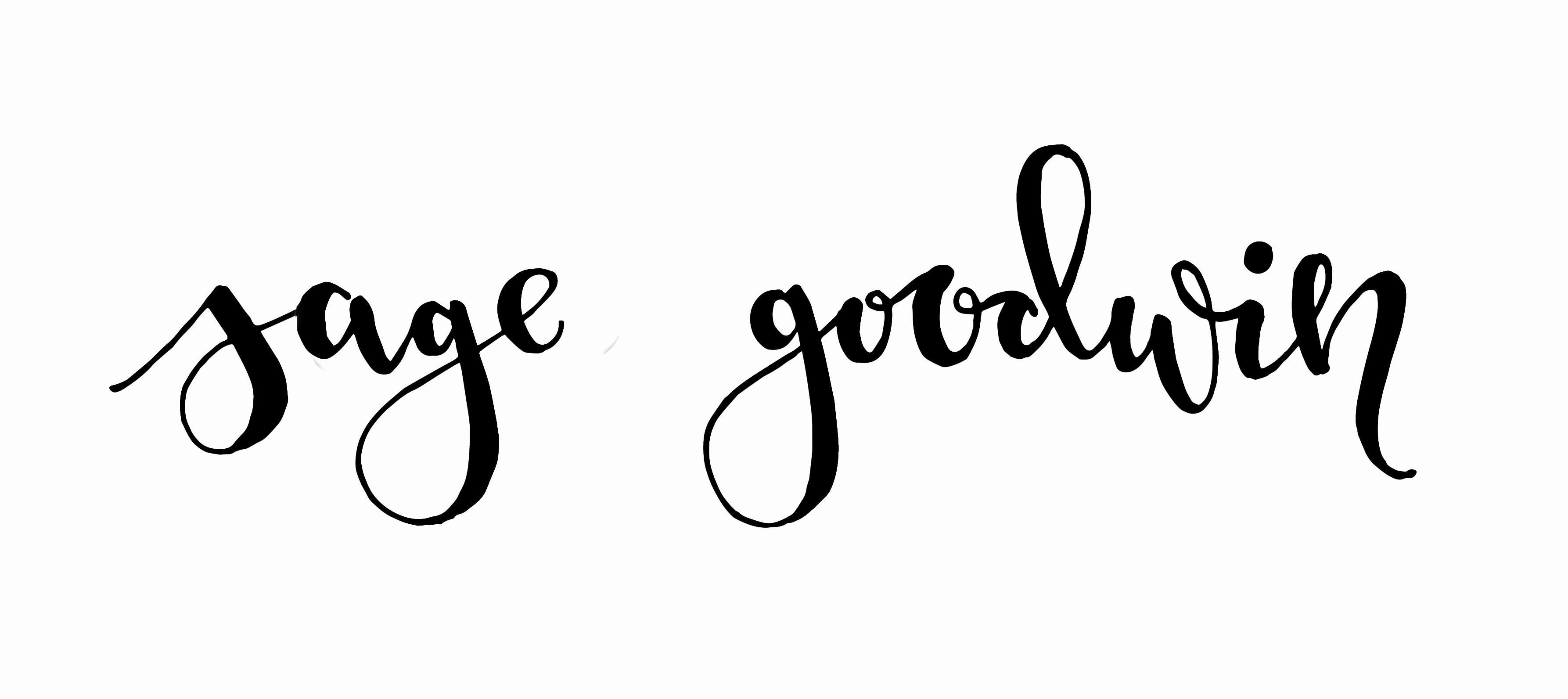 Sage Goodwin Signature