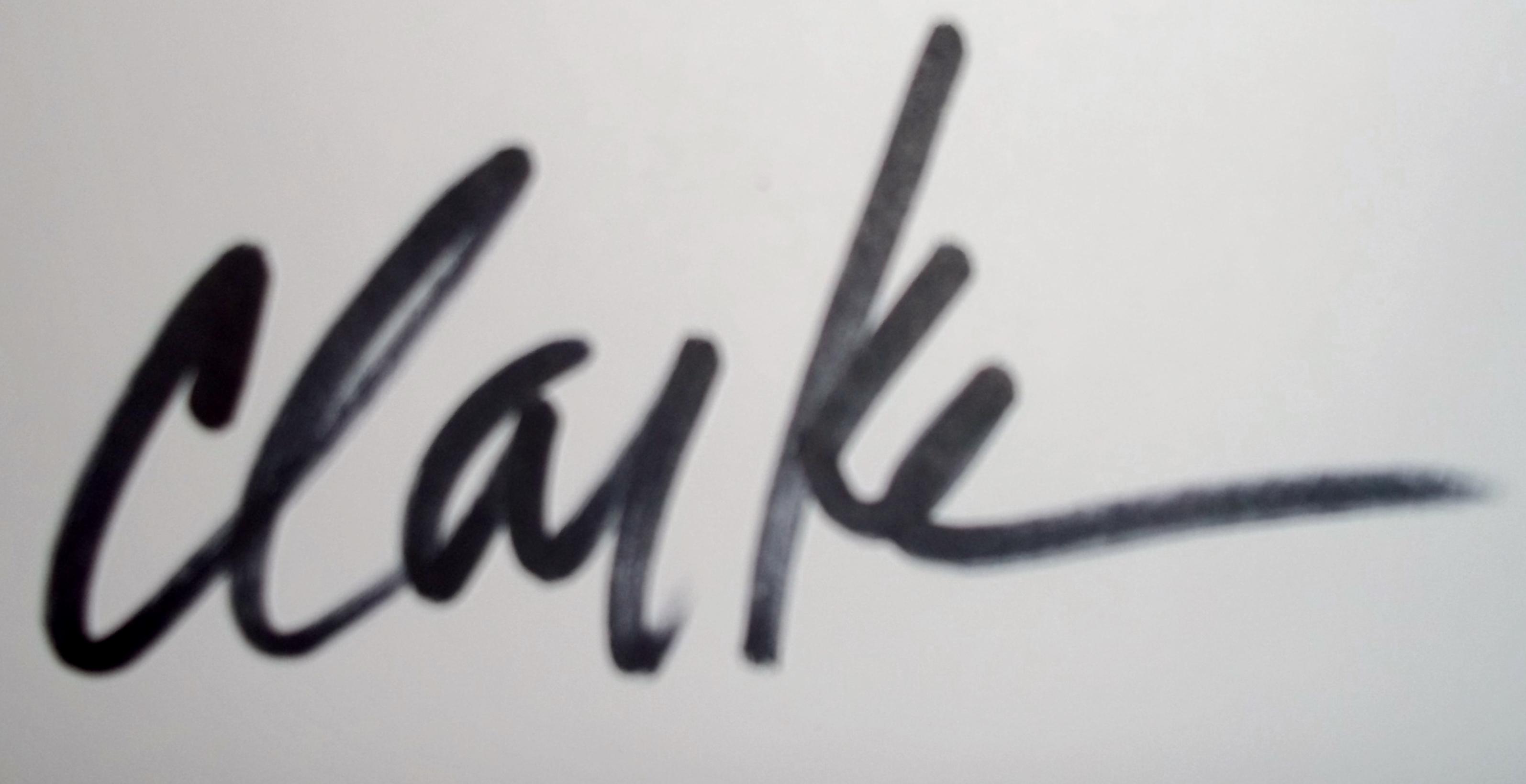 Debbie Clarke Signature