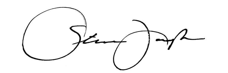 STEPHEN Joseph Signature