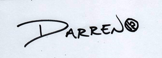 Darren Hill Signature