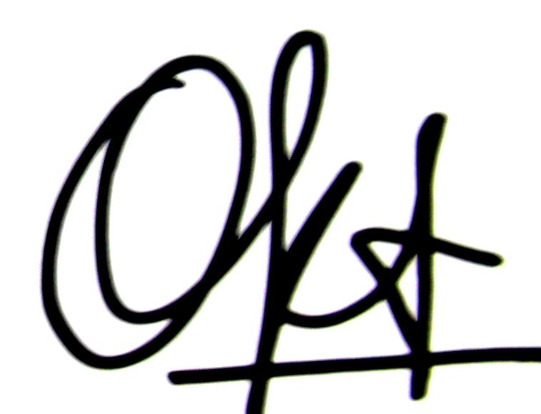 oktara bakara Signature