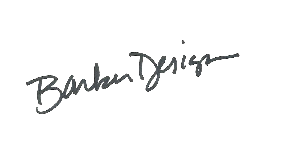 Donna Barker Signature
