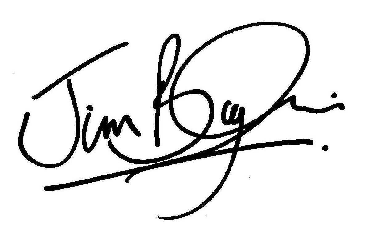 Jim Bayliss Signature