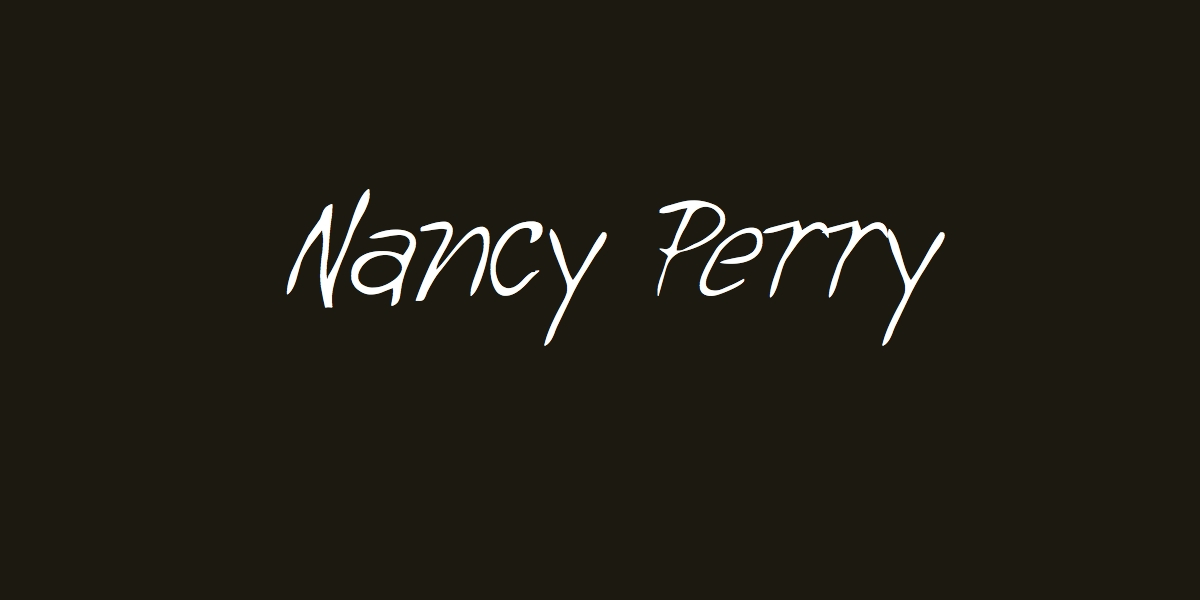 Nancy Perry Signature
