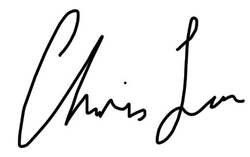 Chris Lau Signature