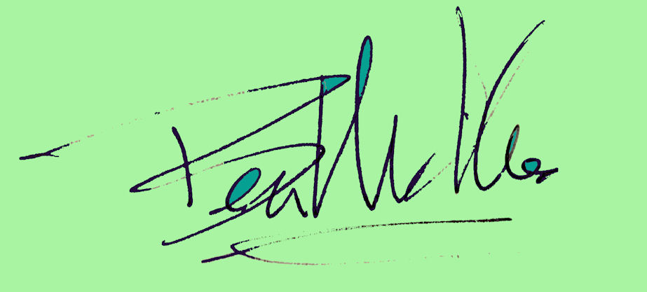Ben Michalski Signature
