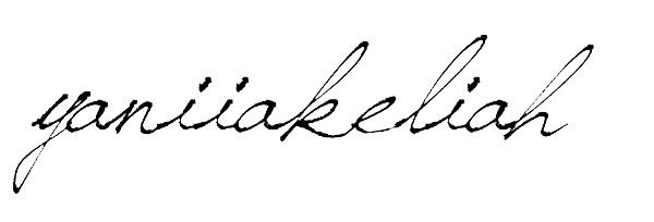 Yanii Akeliah Signature