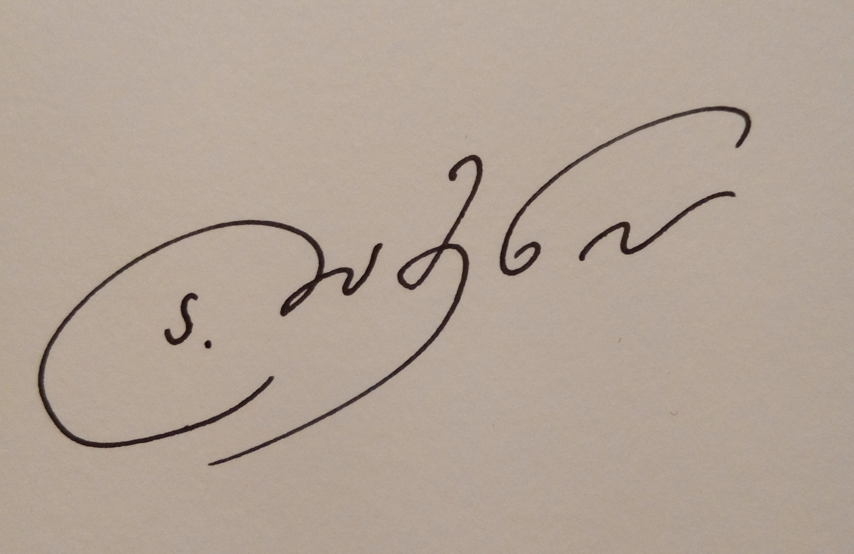 Angelina Damenia Signature