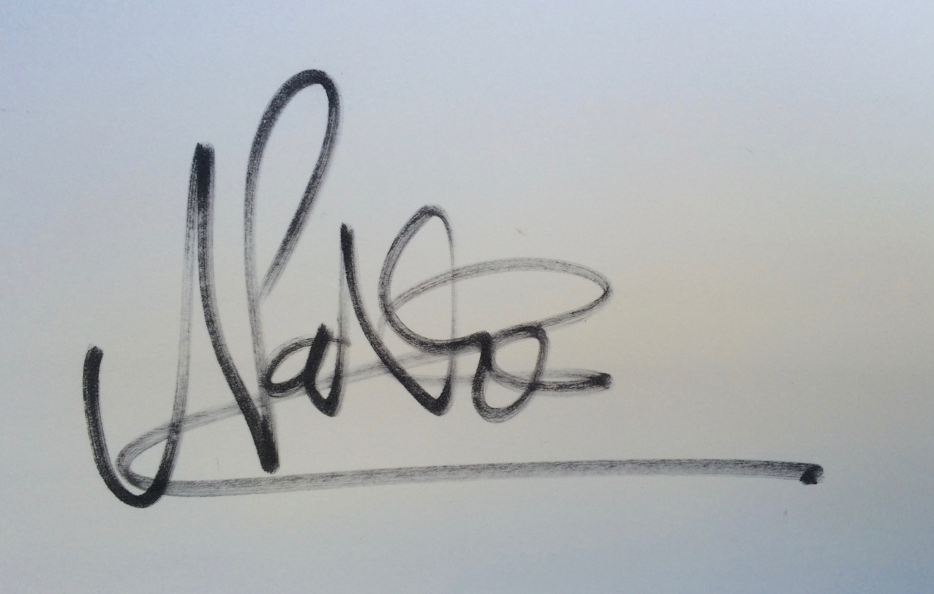 Nathan Huxtable Signature