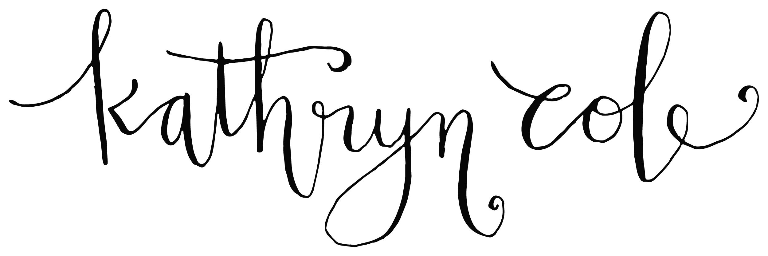 Kathryn Cole Signature