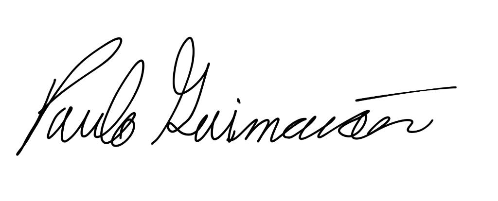 Paulo Guimaraes Signature