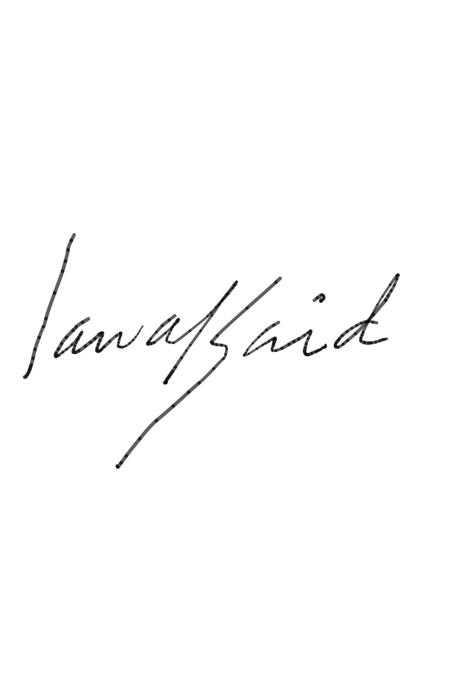 Said Oladejo-lawal Signature