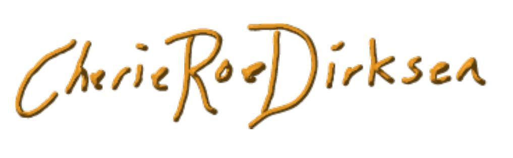 Cherie Roe Dirksen Signature