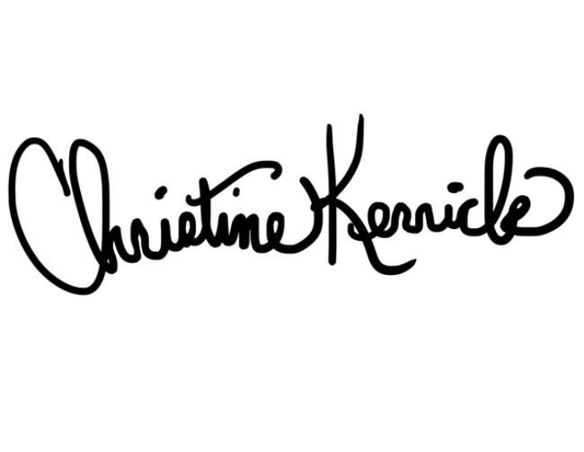 Christine Kerrick Signature