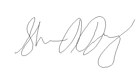 Sharon Daugherty Signature