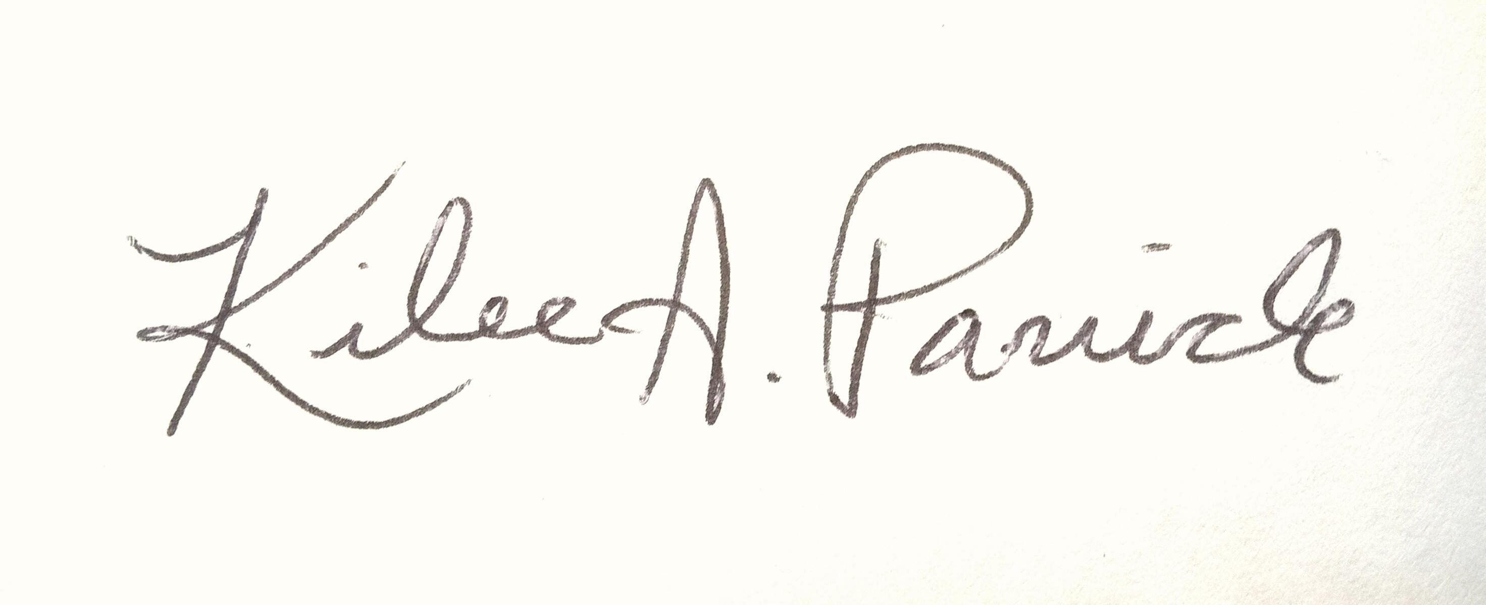 Kilee Panick Signature