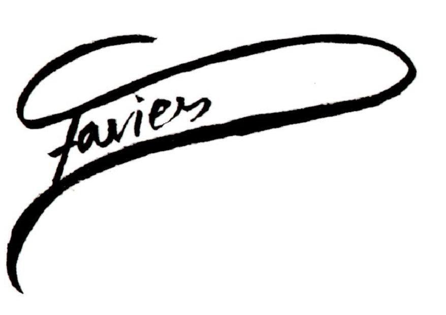 Fiona Davies Signature