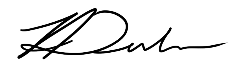 Alan Dubrovo Signature