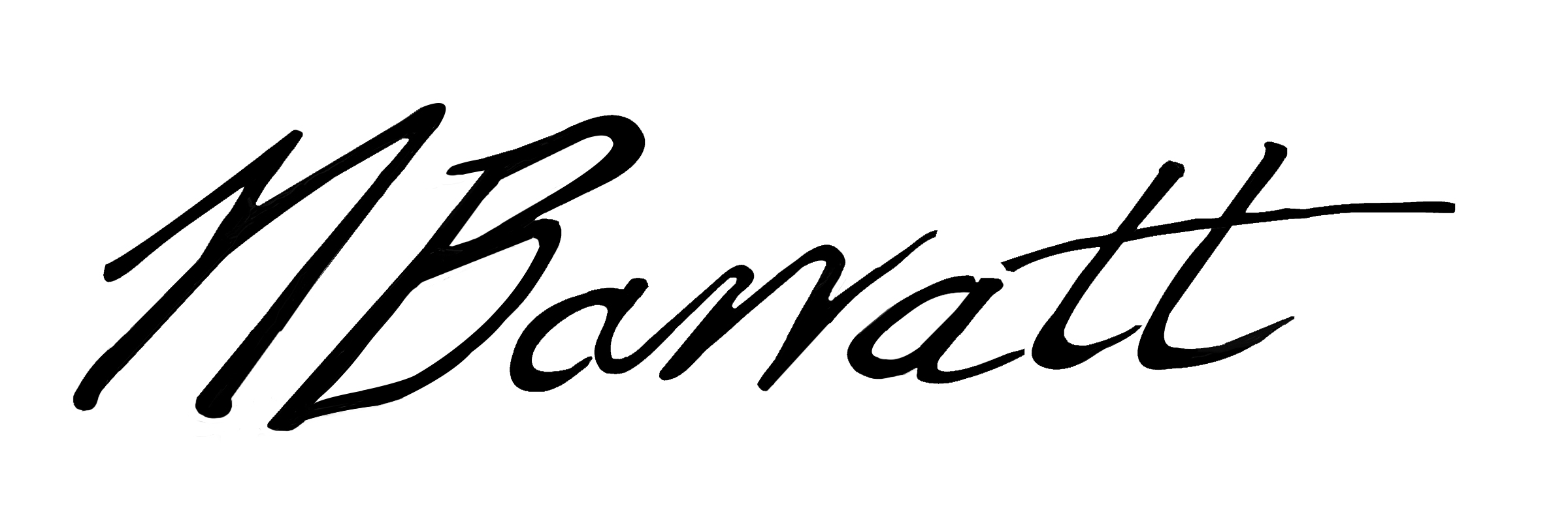 Nina Barratt Signature