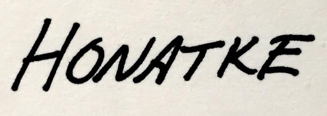 paul honatke Signature