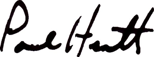 PAUL HEATH Signature