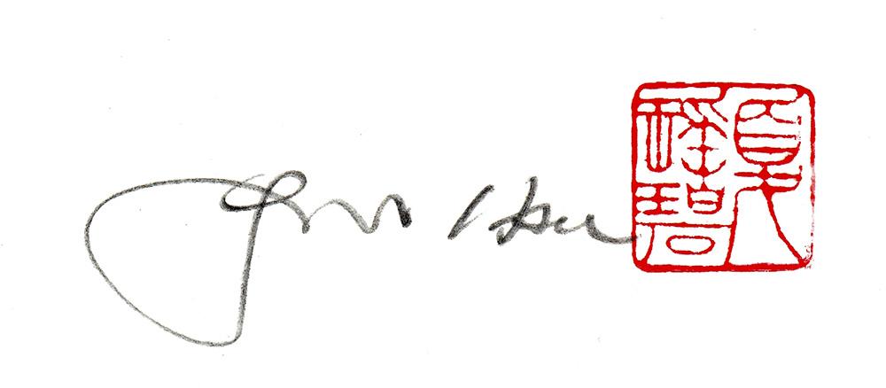 Yao-pi Hsu Signature