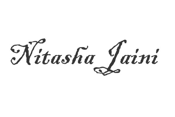 NITASHA JAINI Signature