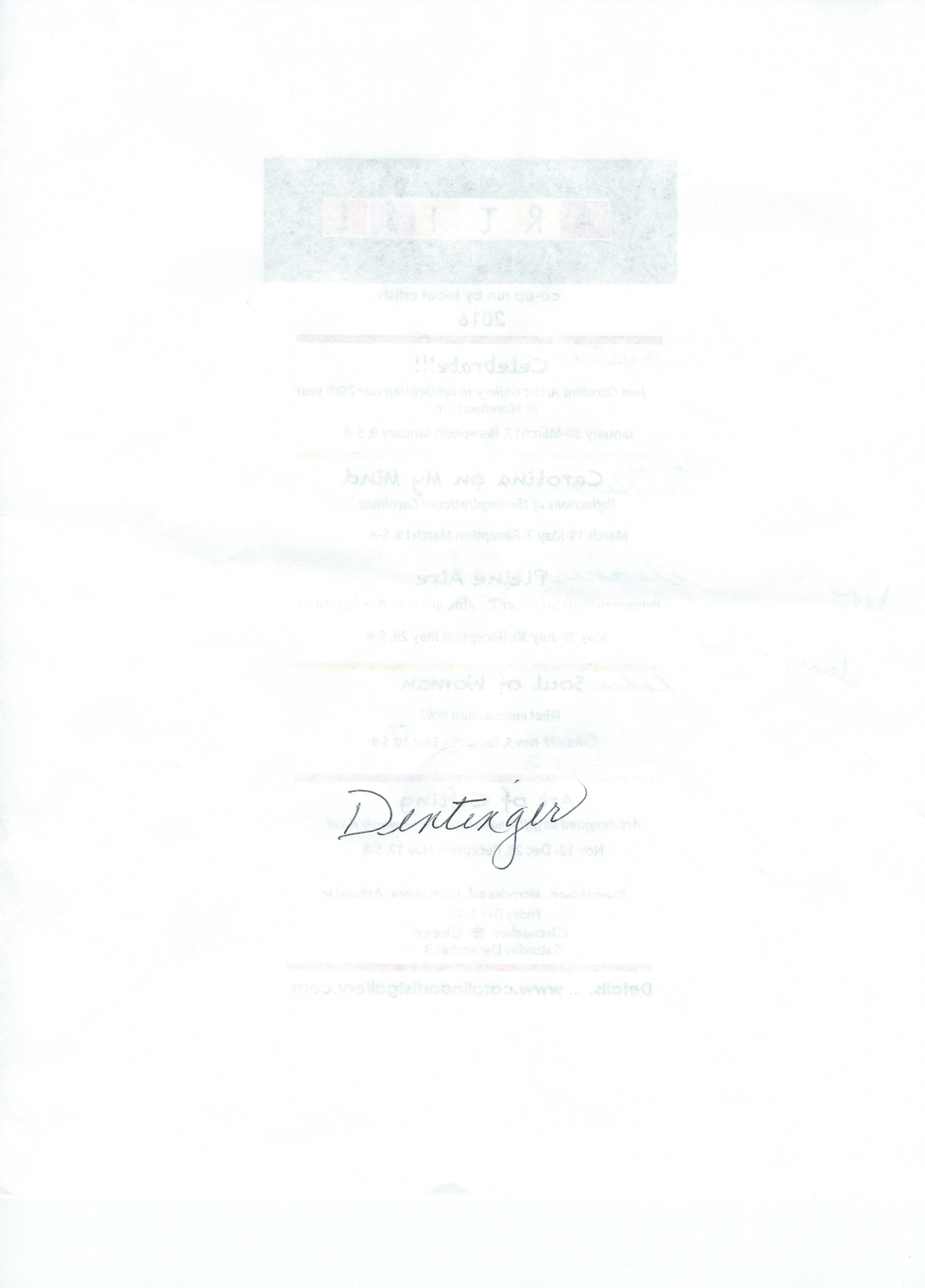 kathleen dentinger Signature