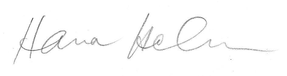 Hanna Holma Signature