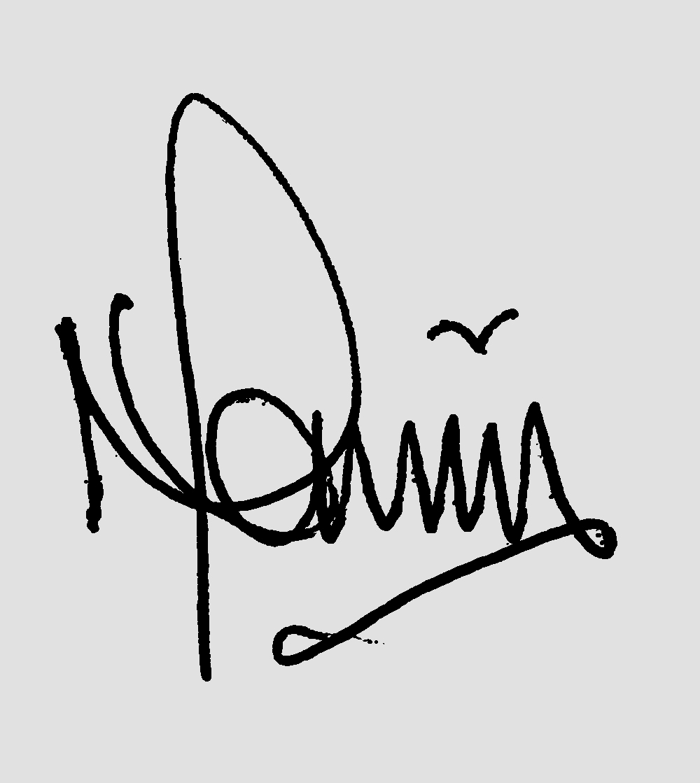 Neville Raven Signature